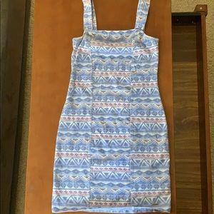 💗 Hollister Sleeveless Geometric Print Dress XS